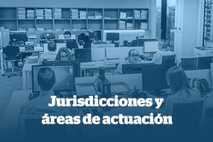 jurisdicciones y areas de actuacion